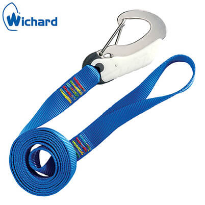 Safety Lanyard - Double Action Safety Hooks - Webbing Loop