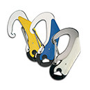 Wichard Double Action Safety Snap Hook - Yellow
