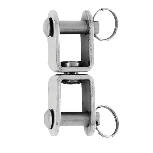 Wichard - Stainless Steel Cambered Plate Swivel