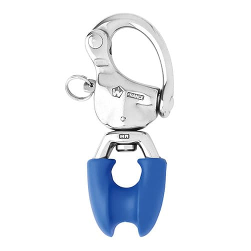 Wichard Stainless Steel Snap Shackle - Thimble Eye