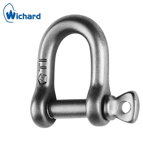 Wichard Titanium Shackle - D Shaped