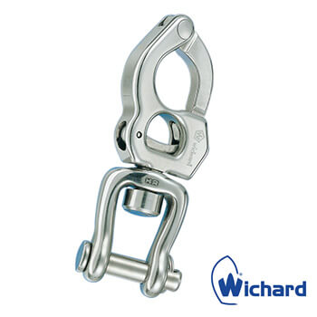 Wichard Stainless Steel Trigger Snap Shackle - Swivel Shackle