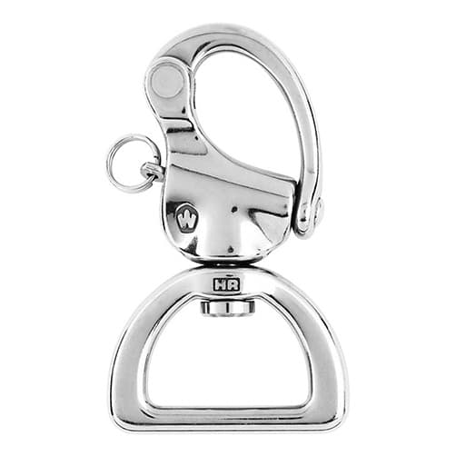 Wichard Stainless Steel Snap Shackle - Webbing Swivel