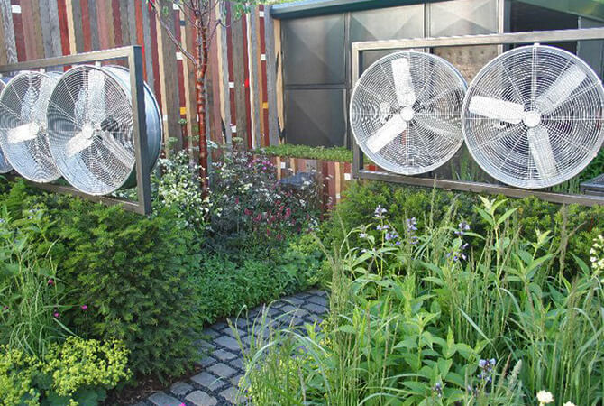 Winds Of Change Garden At The RHS Chelsea Flower Show