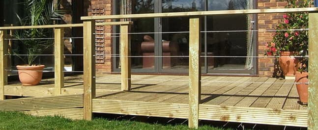 Wire Balustrade Kits And Cable Systems Stainless Steel Wire