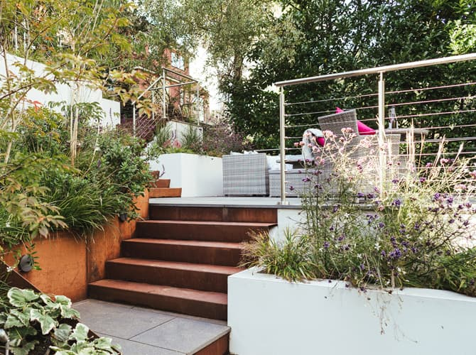Stainless Steel Wire Balustrade - Garden Patio