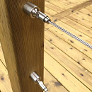 Decking Restoration - Wire Balustrade