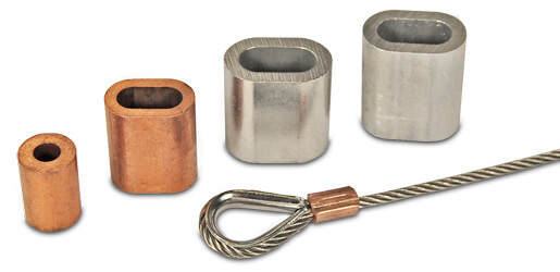 Wire Rope Ferrules, Crimps and Stops | S3i Group