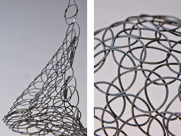 Stainless Steel Wire 3D Sculpture