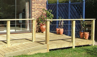 Wire Balustrade Kits