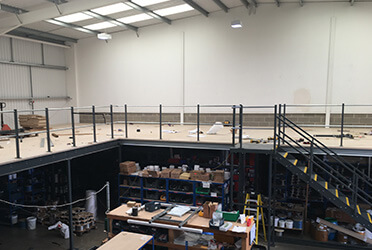 S3i Group Mezzanine Construction