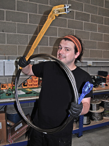 Thom with Fork to Fork Wire Rope Assembly