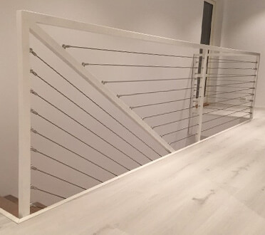 Balustrade Wire Providing A Strong Bold Design Feature