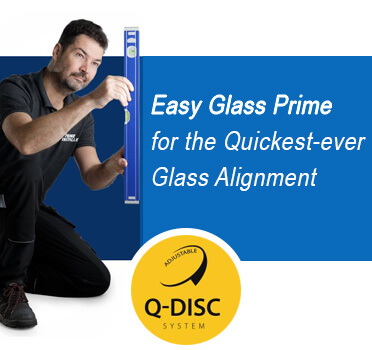 Easy Glass Prime - Q-Disc Glass Mount System
