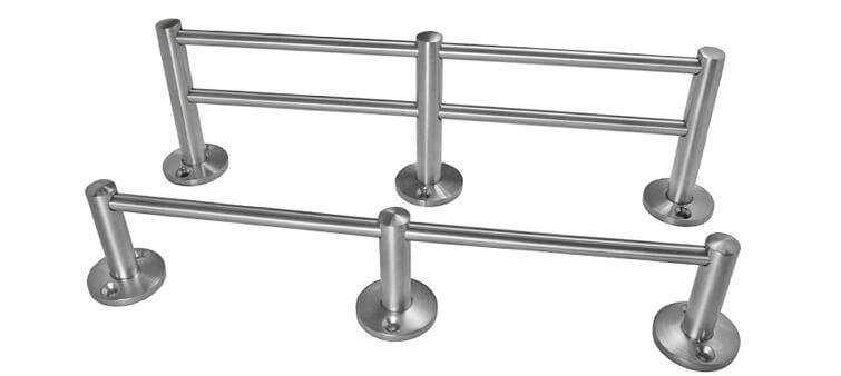Bar Railing System - Gallery Rail Fixings and Components