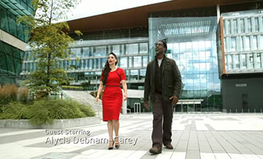 Surrey City Hall, Vancouver in the TV series The 100