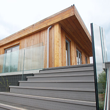 Tyram Lakes - Fascia Mount Pro Glass Balustrade
