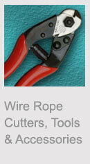 Wire Rope Cutters, Tools and Accessories
