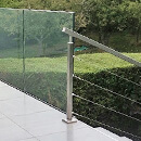 Worksop Glass and Stainless Steel Balustrade